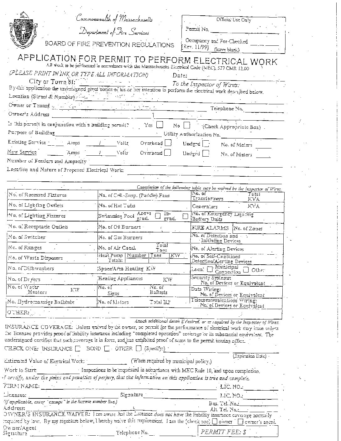 account application form pdf electrical