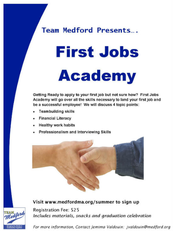 First Jobs Academy Flyer for web