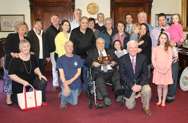 Mastascusa receives Knight of the Legion of Honor award