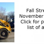 fall 2015 street sweeping